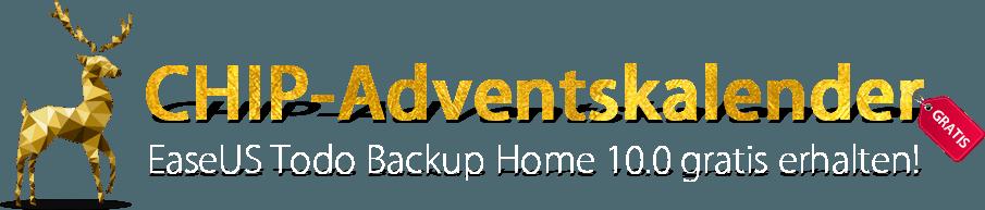 Chip De Weihnachtskalender.Chip Adventskalender Easeus Todo Backup Home 10 0 Vollversion