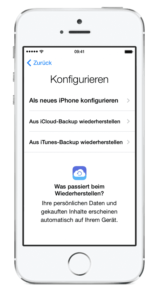 backup iphone to cloud iphone 7 7plus iphone 6 aus icloud backup nach ios 11 2750