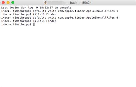mac versteckte ordner anzeigen