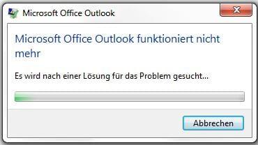 outlook 2013 windows 10 funktioniert nicht mehr