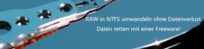Dateisystem RAW