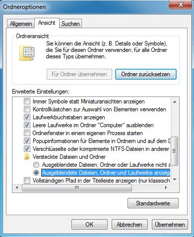 Versteckte Dateien Auf Speicherkarte Anzeigen Und Wiederherstellen